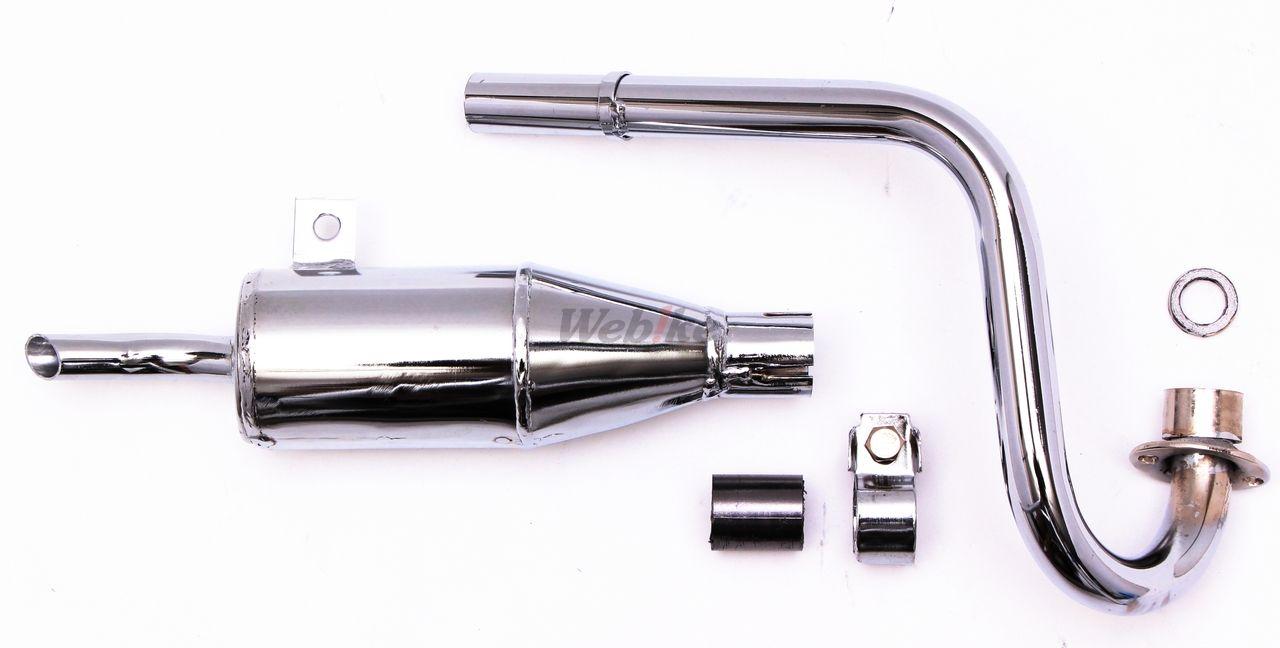 【MINIMOTO】MONKEY Z50A型 全段排氣管 - 「Webike-摩托百貨」