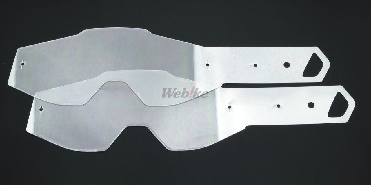 【100%】【部品】RACECRAFT・ACCURI 風鏡用快拆薄膜片 - 「Webike-摩托百貨」