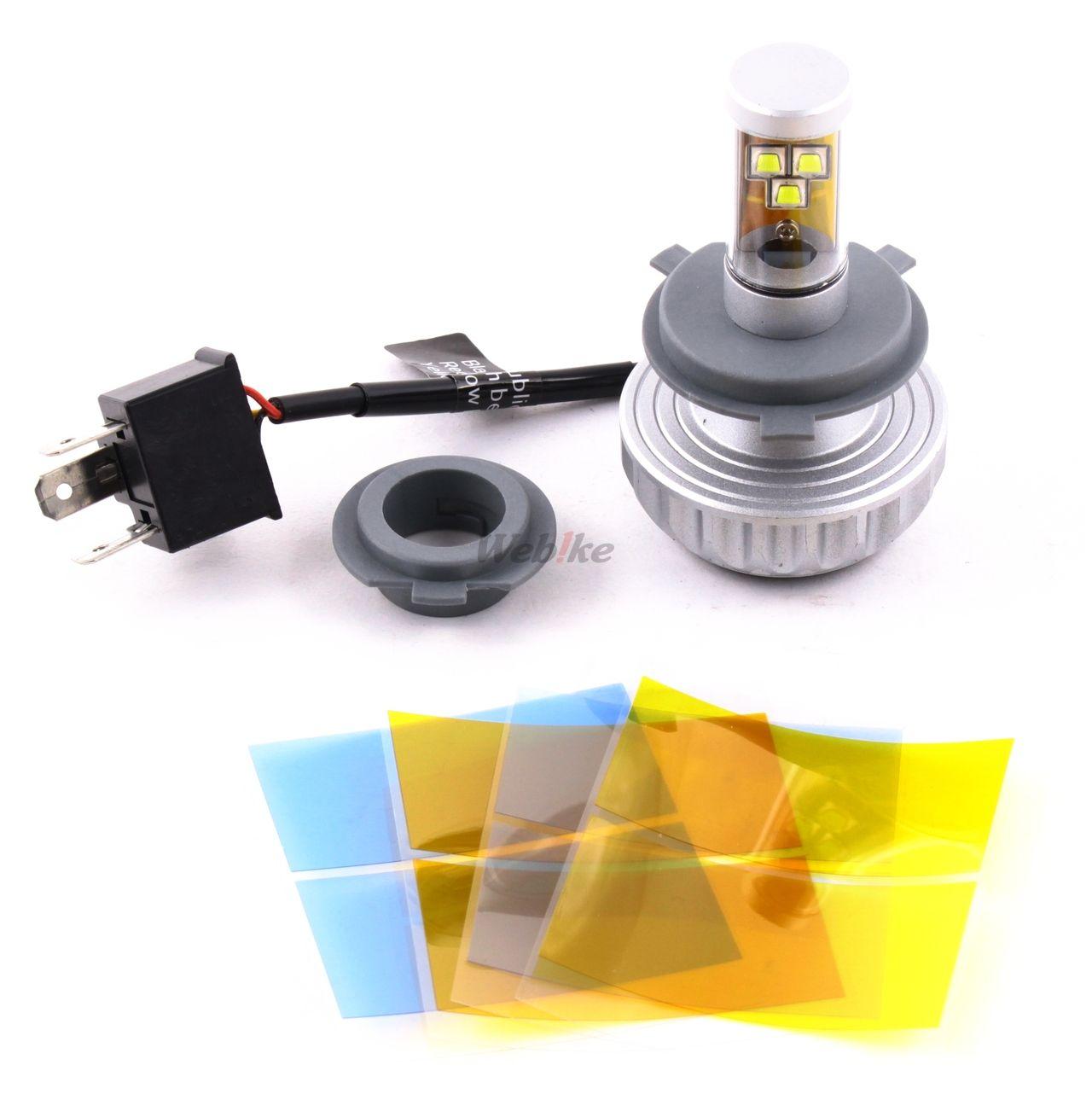 IMPACT バイク用LEDヘッドライト H4用 各種バルブ (IM-LED-008) の商品ページ