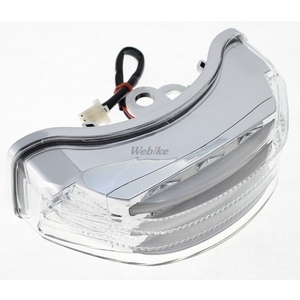 [Closeout Item] LED Customized  Tail Lamp Clear [Special Price Item] WebikeMode