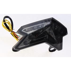 LEDカスタムテールライト ウィンカー機能付き スモークレンズ