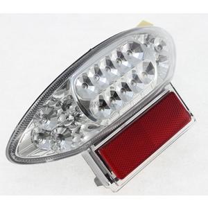 LEDカスタムテールライト ウィンカー機能付き クリアレンズ