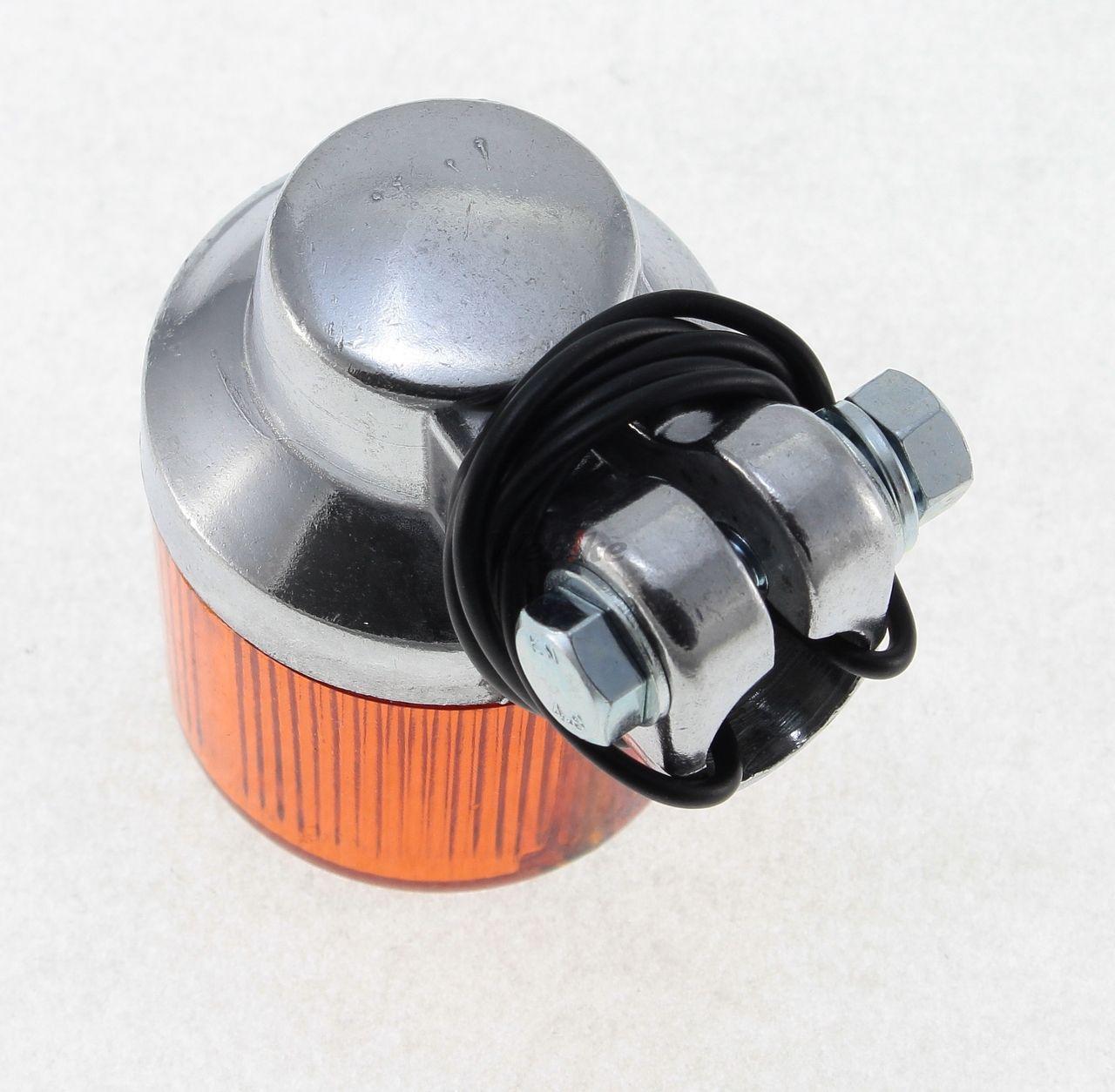 【PMC】European Type 45φ 方向燈 (透明/電鍍) - 「Webike-摩托百貨」