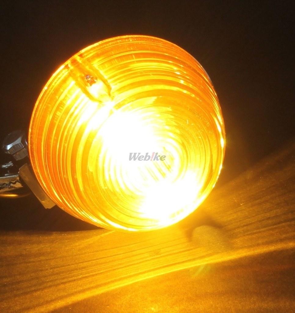 【PMC】CB400F/750K型 方向燈 (透明) - 「Webike-摩托百貨」