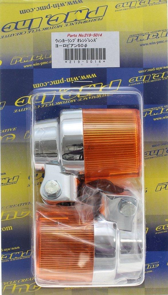 【PMC】European Type 50φ 方向燈 (透明/電鍍) - 「Webike-摩托百貨」