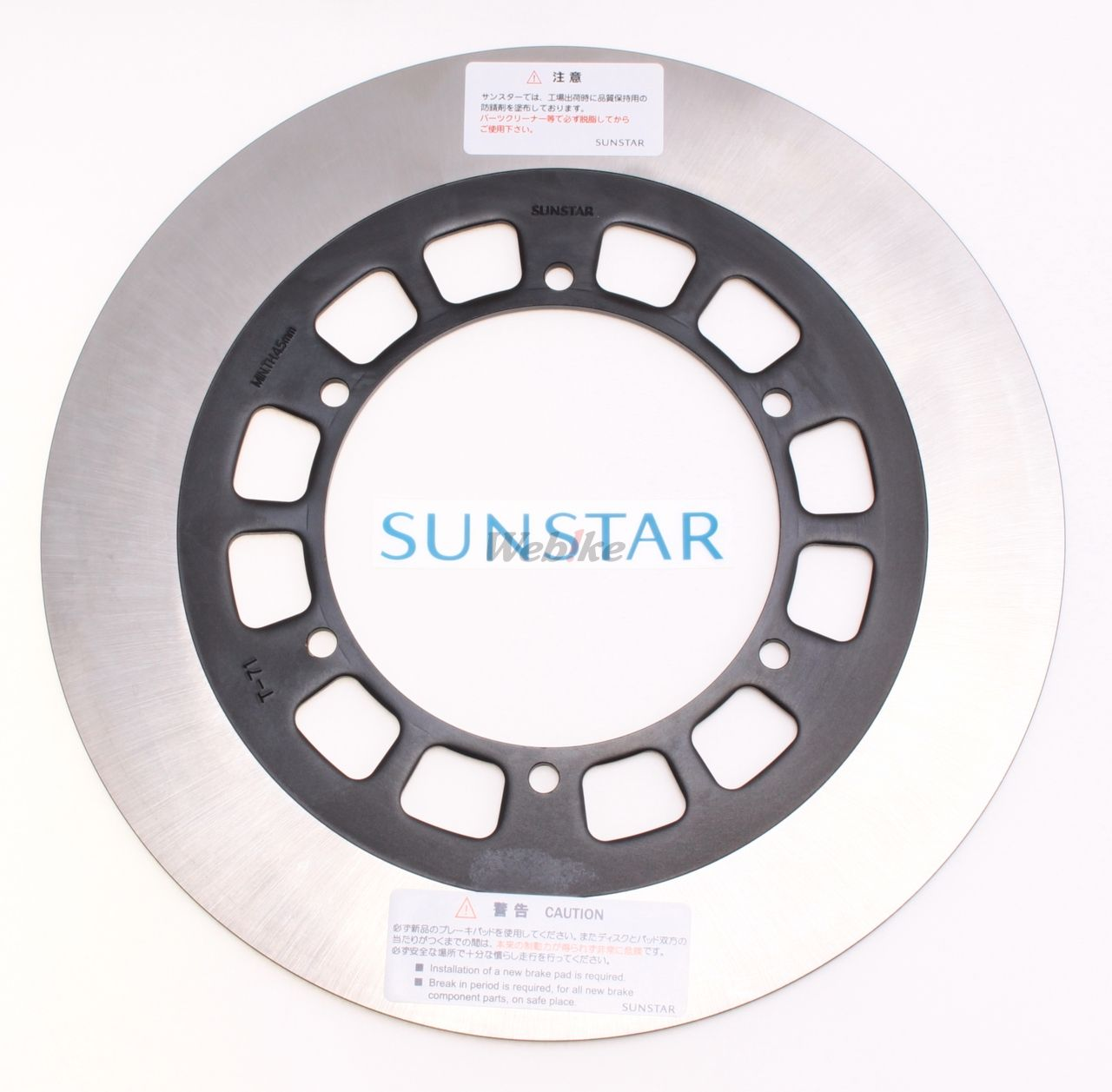 【SUNSTAR】傳統型TYPE for SR only 前煞車碟盤 - 「Webike-摩托百貨」