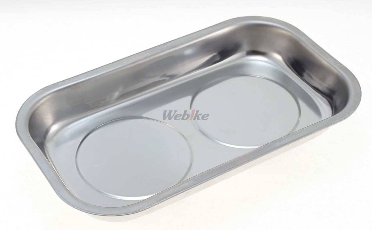 Magnet Stainless Steel Parts Tray Large Size