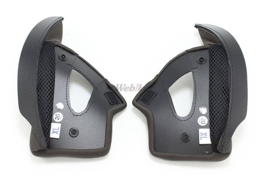 【OGK KABUTO】FF-R3 安全帽 面頰墊組 - 「Webike-摩托百貨」
