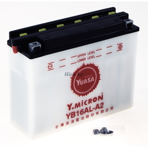 開放型バッテリー TYB16AL-A2