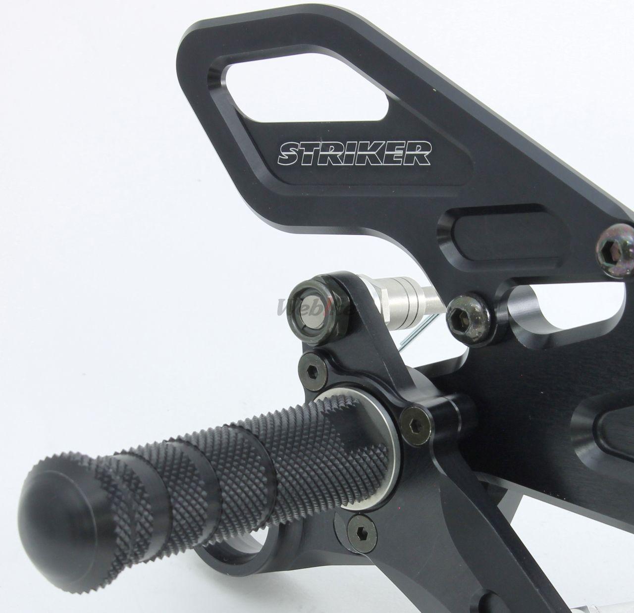 【STRIKER】6點式腳踏後移套件 - 「Webike-摩托百貨」