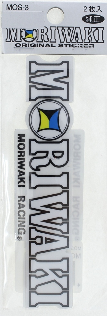 【MORIWAKI】MORIWAKI RACING 貼紙 - 「Webike-摩托百貨」