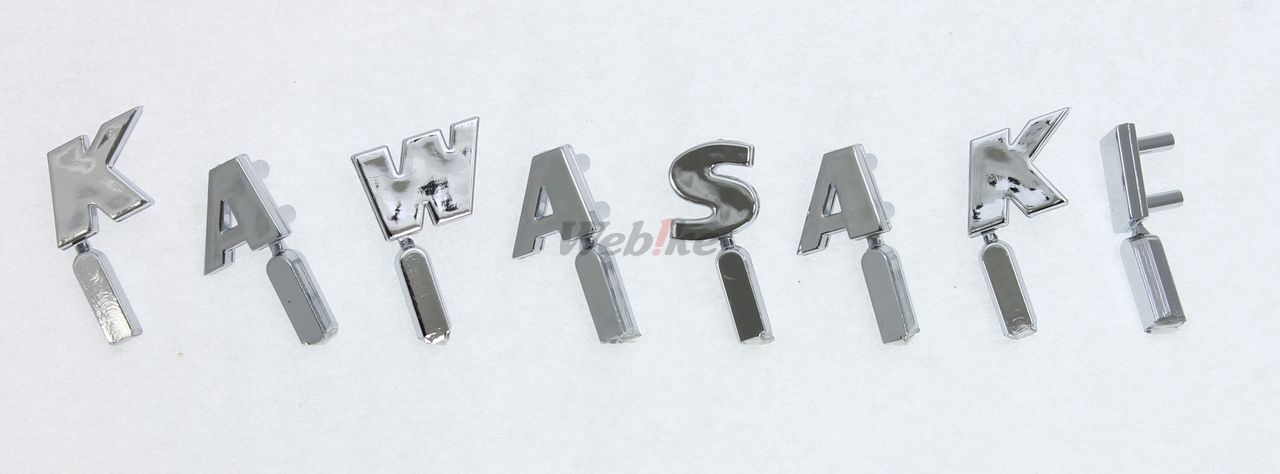 【DOREMI COLLECTION】前叉飾蓋銘版 『KAWASAKI』 - 「Webike-摩托百貨」