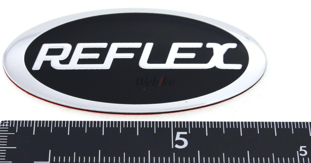 【COOCASE】後箱徽章 REFLEX [V50] 用 橢圓 - 「Webike-摩托百貨」