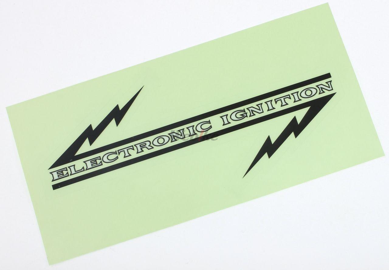 【DOREMI COLLECTION】Electronic Ignition 側邊貼紙 - 「Webike-摩托百貨」