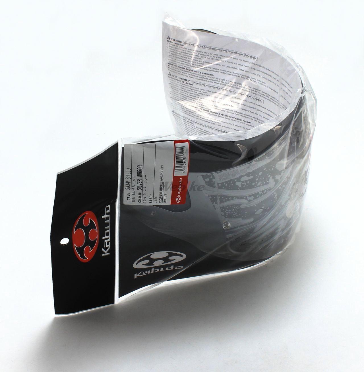 【OGK KABUTO】SAJ-P 鏡面安全帽鏡片 - 「Webike-摩托百貨」