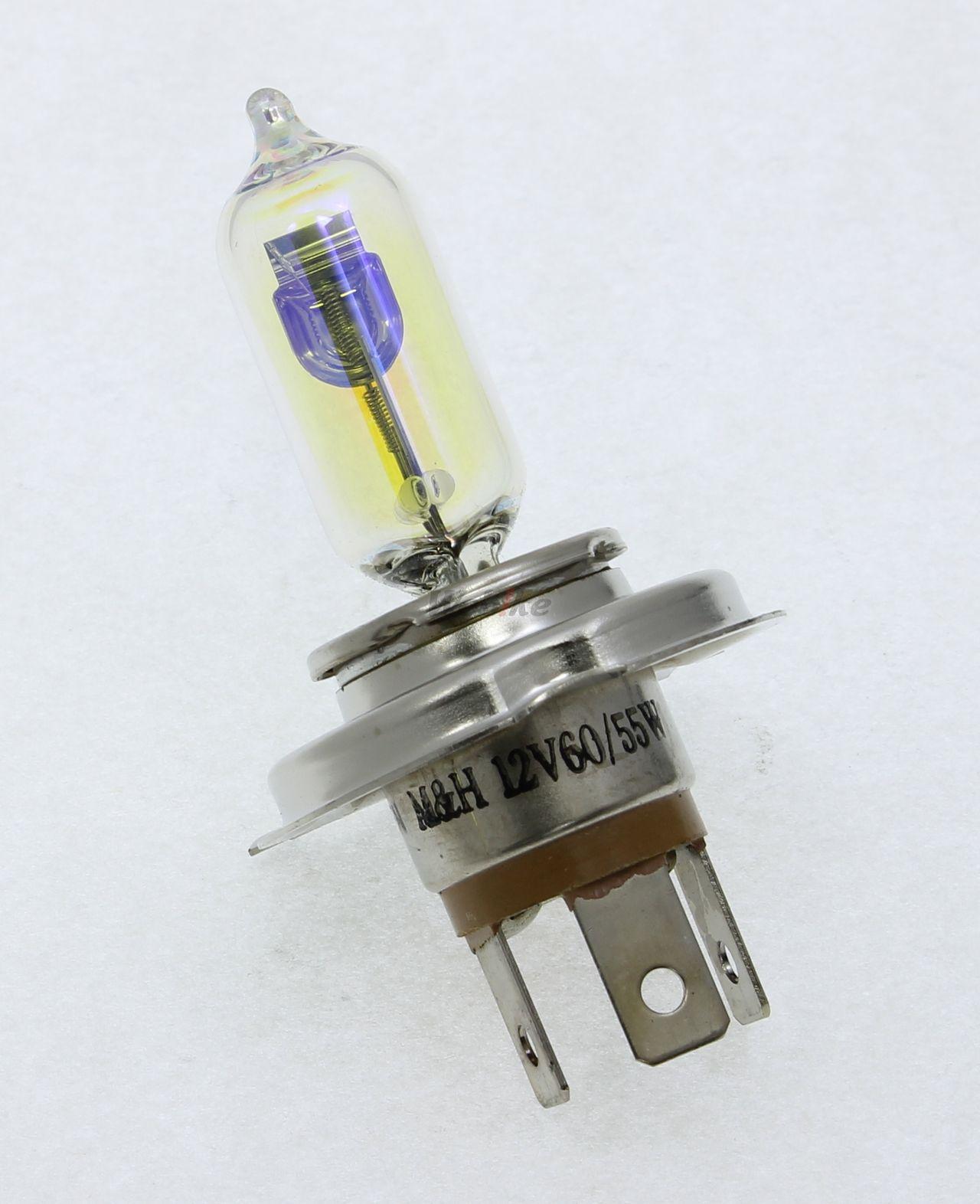 【M&H】Bike 頭燈燈泡 H4 - 「Webike-摩托百貨」