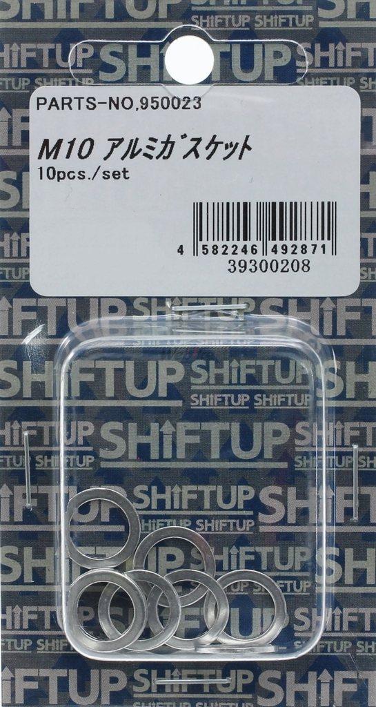 【SHIFT UP】鋁合金墊片 M10/10pcs - 「Webike-摩托百貨」