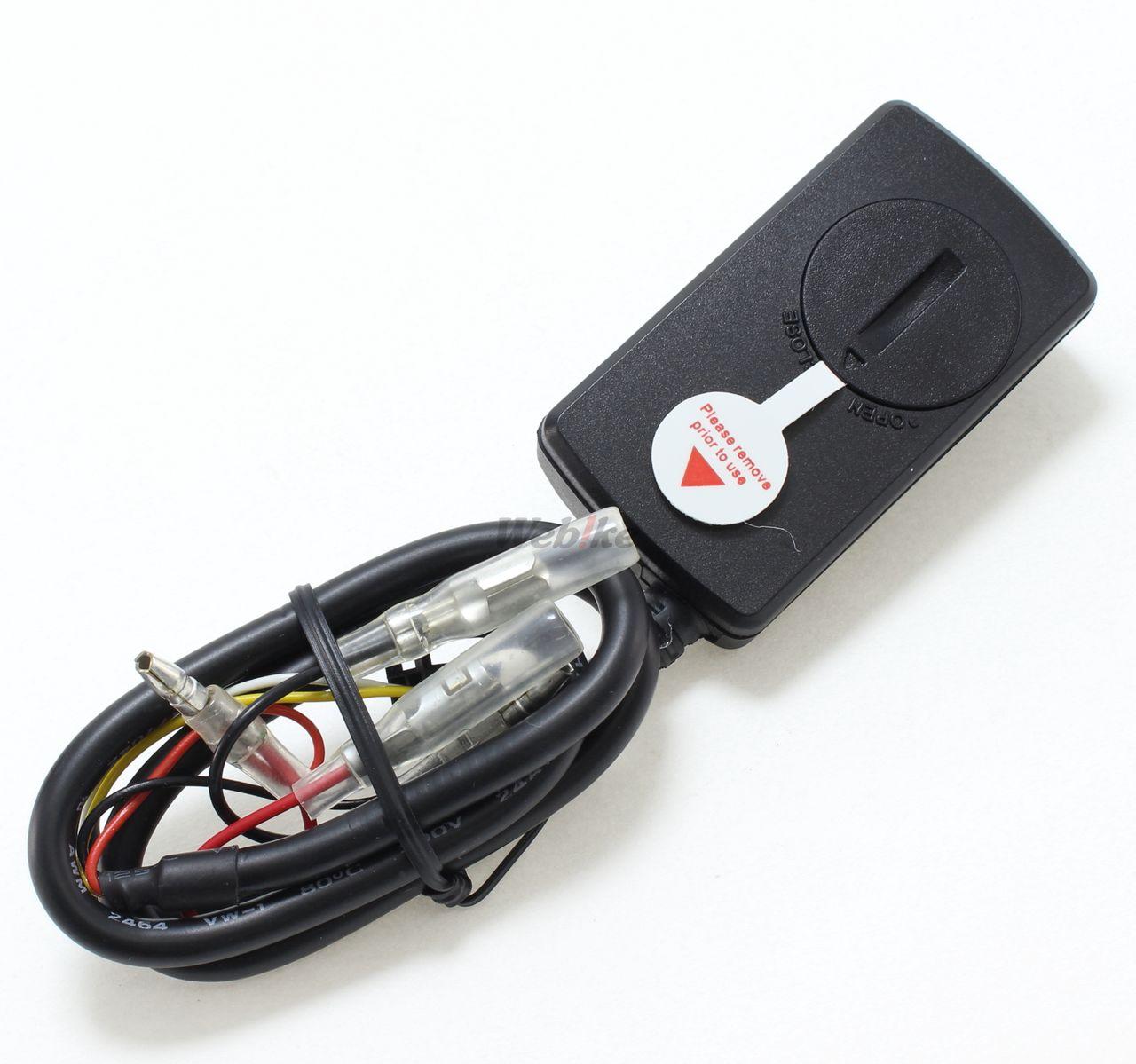 【SP武川】綜合LCD溫度錶(電池駆動/外部電源背光型式)M5感知器附 - 「Webike-摩托百貨」