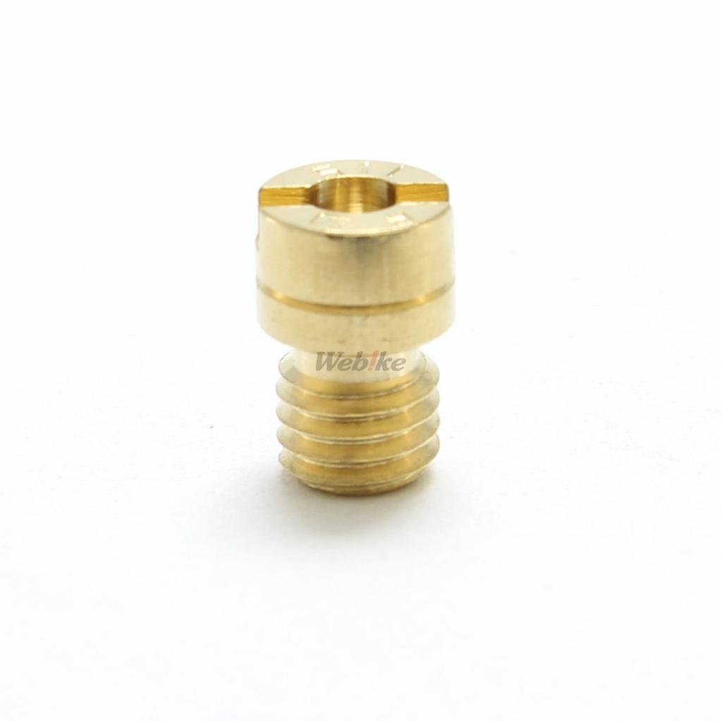 【KITACO】主油嘴 #115.0(Mikuni化油器・圓型・小) - 「Webike-摩托百貨」