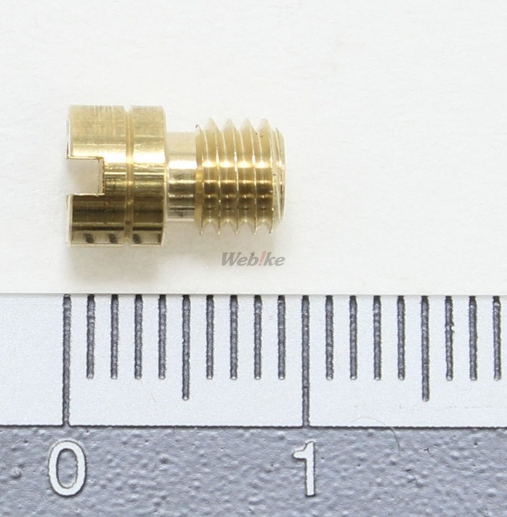 【KITACO】主油嘴 #112.5(Mikuni化油器・圓型・小) - 「Webike-摩托百貨」