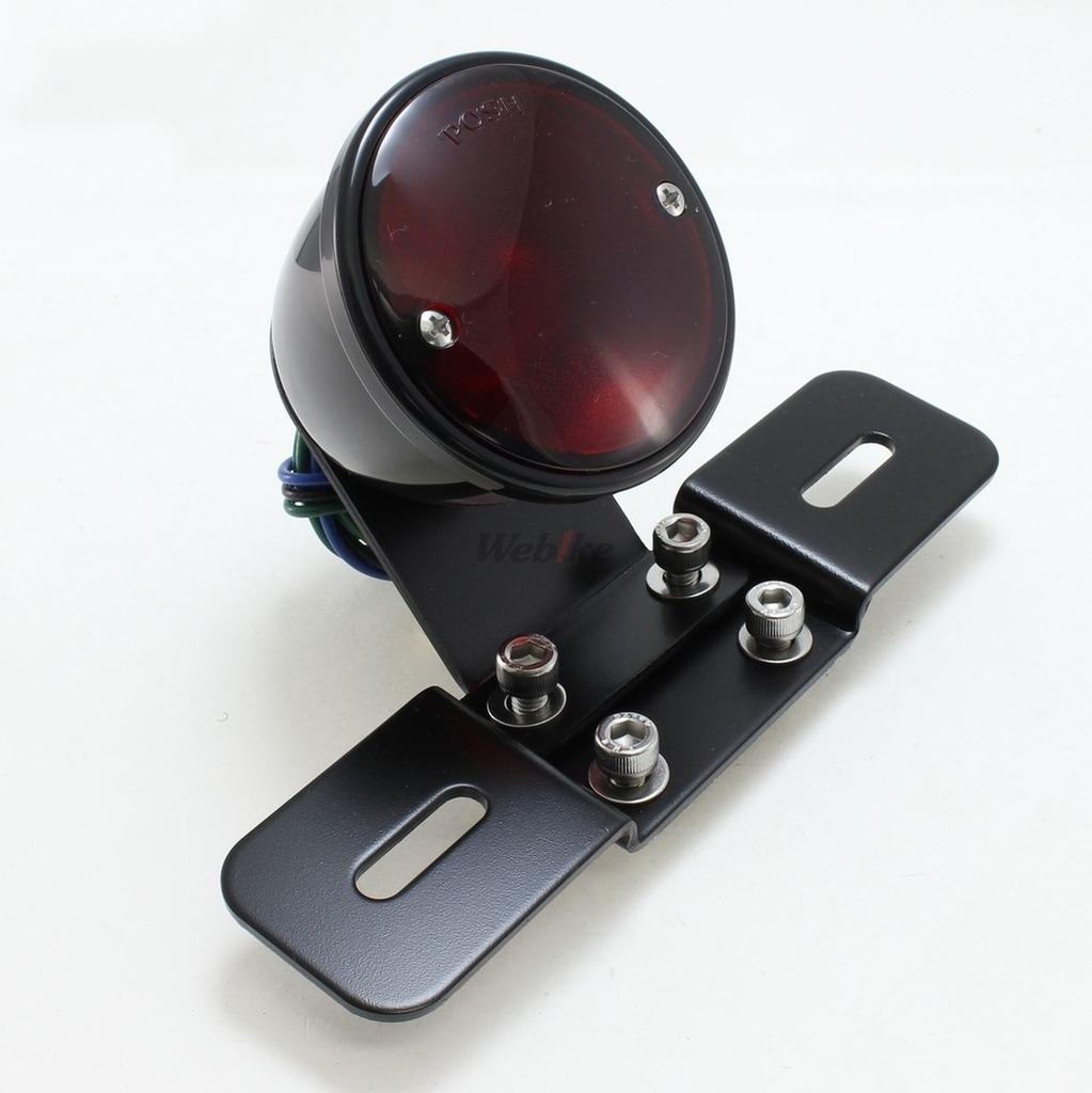 【POSH】萬用 經典圓型尾燈 - 「Webike-摩托百貨」