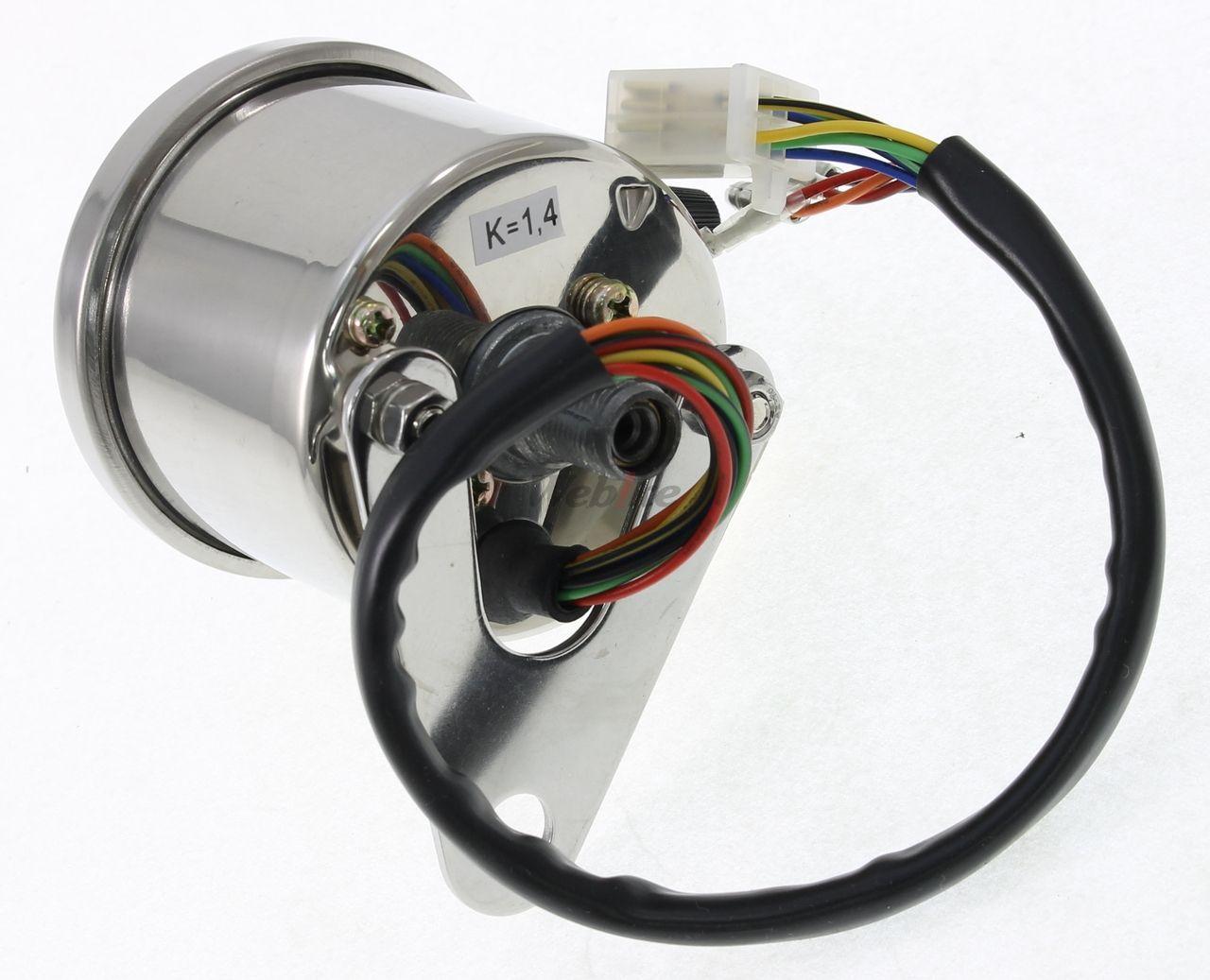 【POSH】LED背光型式4迷你指示錶(機械式) - 「Webike-摩托百貨」