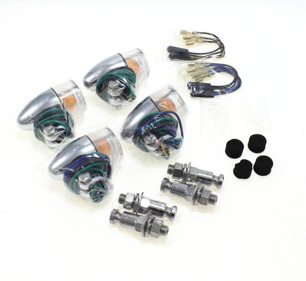 【POSH】砲彈型方向燈(車種專用) - 「Webike-摩托百貨」