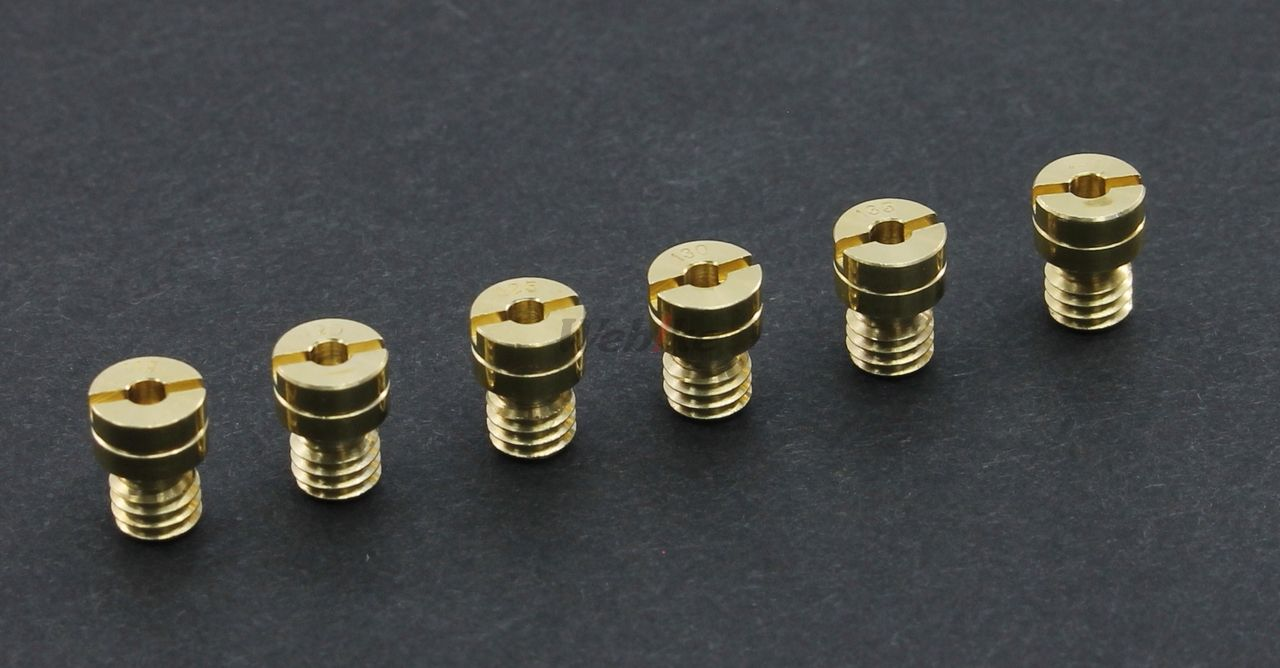 【POSH】KEIHIN PC18/20/PB16/18/CVK20 化油器用主油嘴 - 「Webike-摩托百貨」