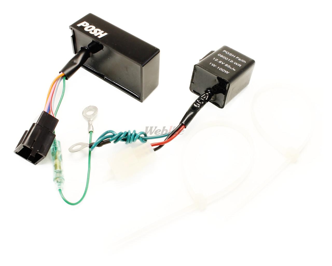 【POSH】方向燈控制器 - 「Webike-摩托百貨」