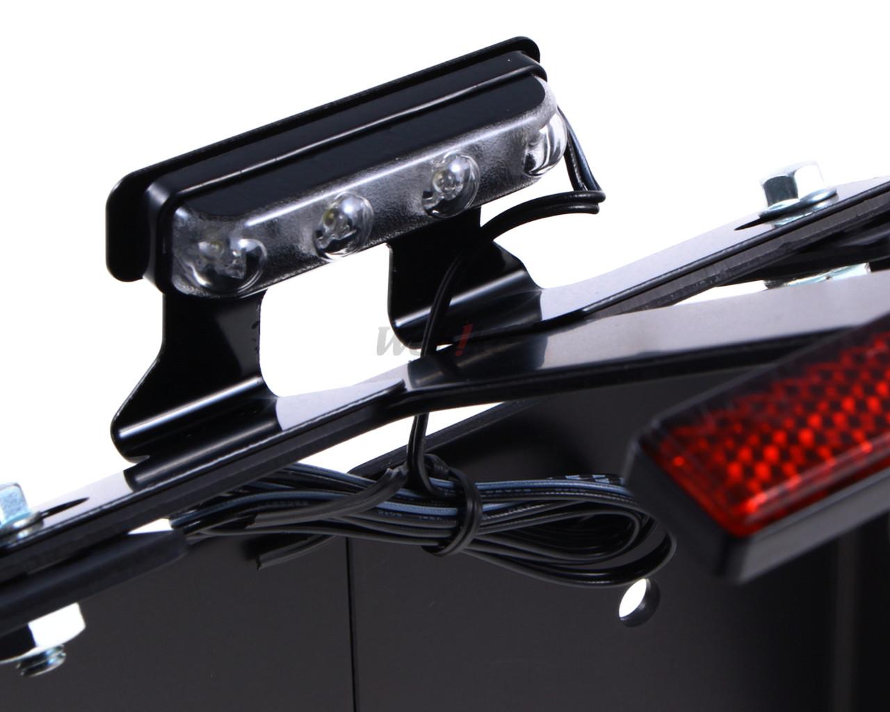 【DAYTONA】無土除套件(車検對應 附LED牌照燈) - 「Webike-摩托百貨」