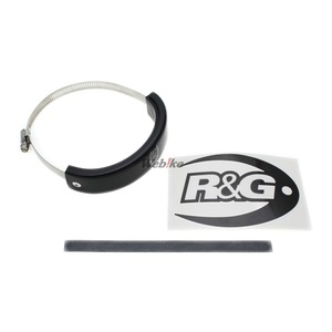 R&G アールアンドジーオーバル(楕円) マフラープロテクター 【Oval style Exhaust Protector (Can Cover)】■