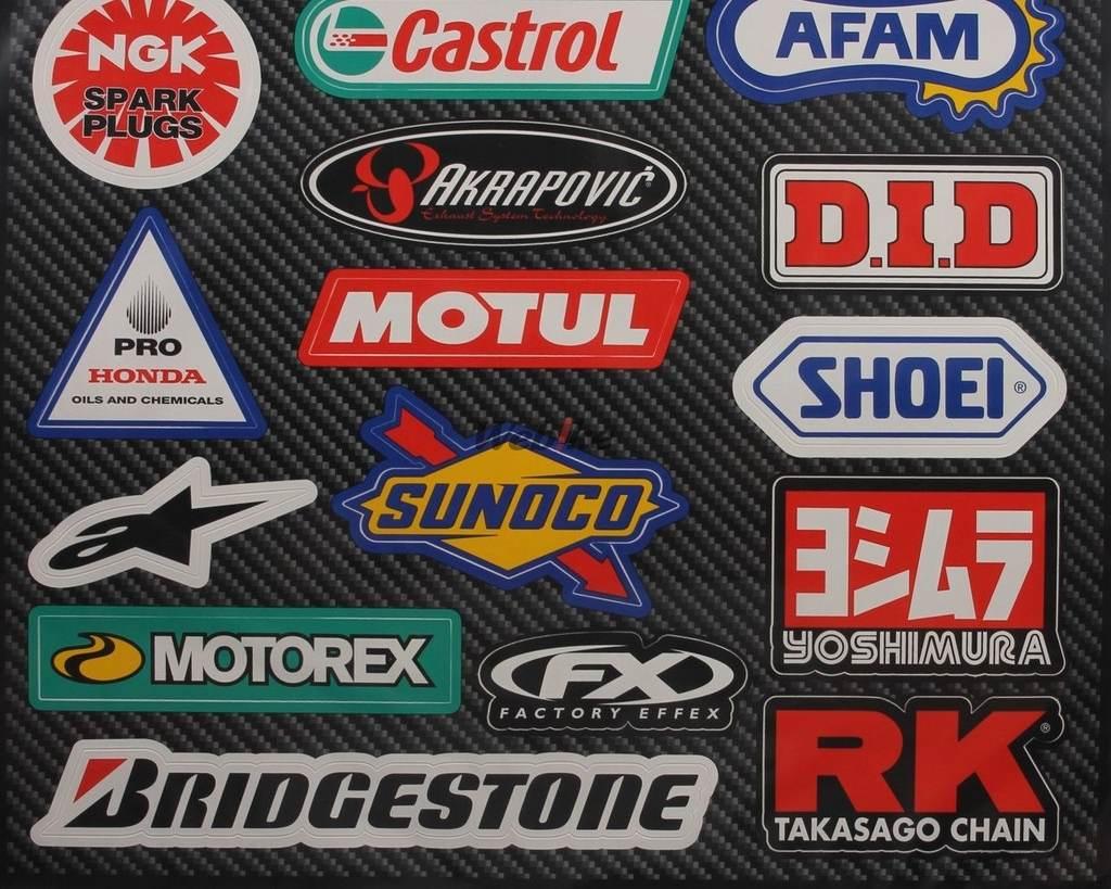 【FACTORY EFFEX】贊助商貼紙套件 Street sponsors - 「Webike-摩托百貨」