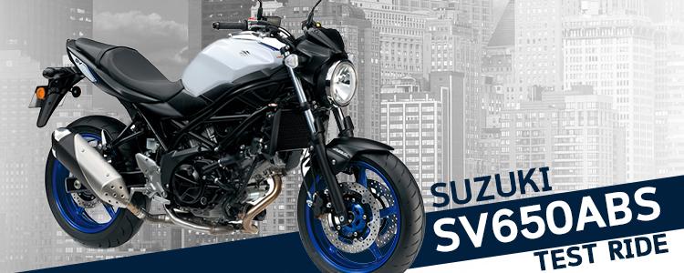 ทดลองขับขี่ SUZUKI SV650 ABS โดย เคนนี่ ซากาวะ - Webike Thailand