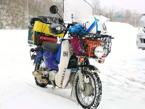 マルチに活躍する使い勝手の良いバイク