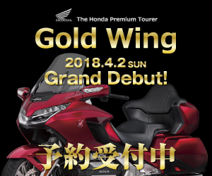 Gold Wing Grand Debut!
