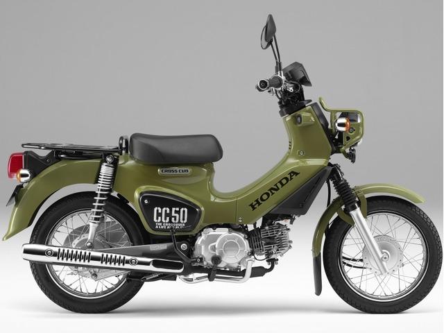 クロスカブ50 7月発売・2018年モデル即納OK クロスカブ50