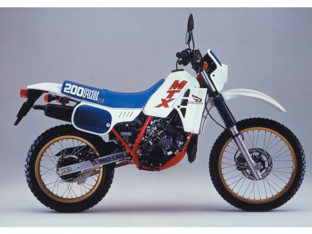 HONDA MTX200R/RII