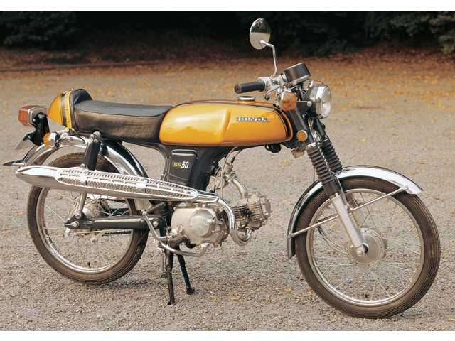 HONDA BENLY SS50(tahun 1970)