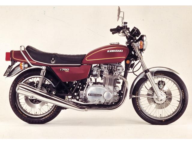 KAWASAKI Z750T (Twin)(1976年)