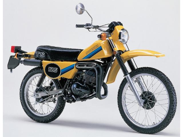 SUZUKI TS125 HUSTLER(1981年)