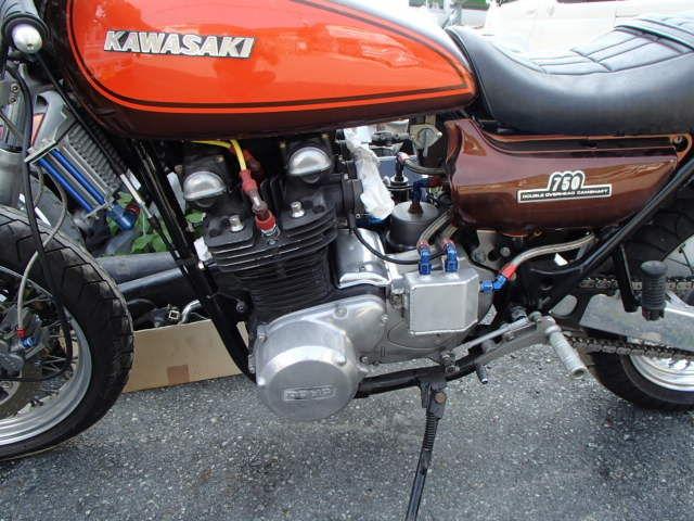 Z750-D1 (KZ750D) エンジン好調です。