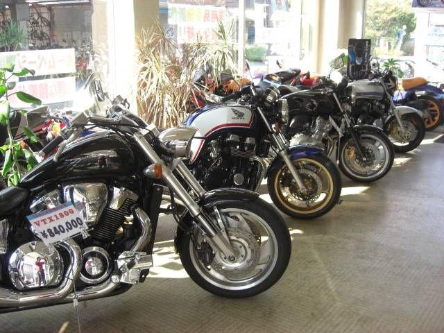 大型バイク〜原付まで取り扱っております。