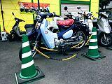 スーパーカブC125/ホンダ 125cc 岡山県 2.Resort@笹沖 クレイバー(すくーたうん笹沖 改)
