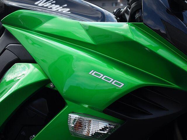 ニンジャ1000 (Z1000SX) 極上中古車です!ブライト正規モデル 東南アジア仕様 KTRC搭…