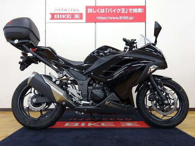 ニンジャ250 Ninja 250 GIVIリアボックス