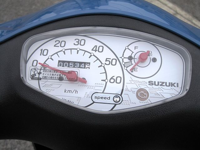 レッツ(4サイクル) 走行534Km ワンオーナー車です。 ご納車前に必ず試運転及び完成検査を行いま…