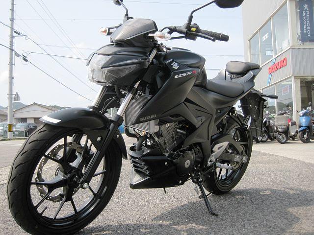 GSX-S125 2019年4月登録 走行880キロ ワンオーナー 初めてバイクをご購入の方もお気軽…
