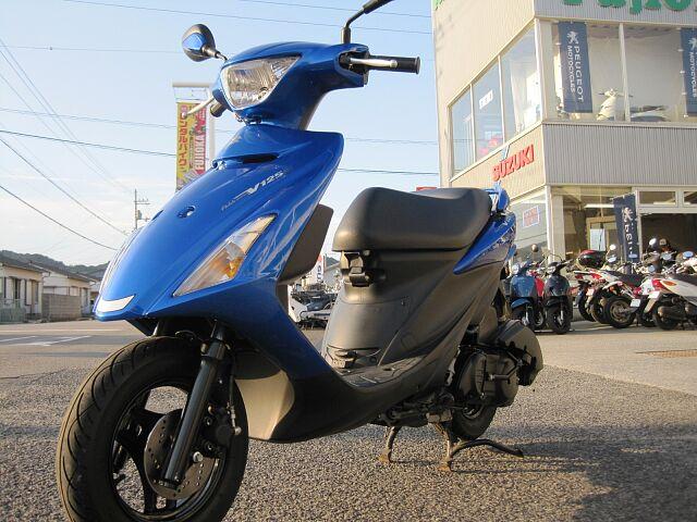 アドレスV125S 走行1219キロ 純正オプション多数装備 初めてバイクをご購入の方もお気軽にご連…