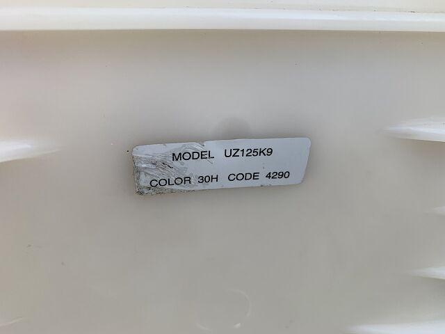 アドレスV125 即納車可能です 純正リアボックス付いています。