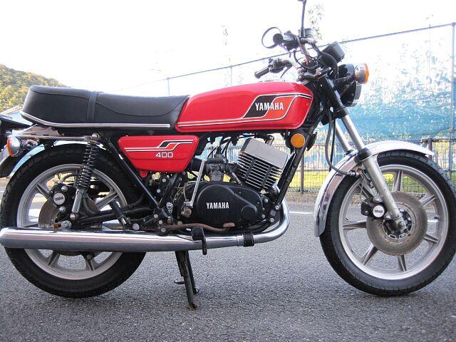RD400 1976年モデル 車検令和4年7月まで付いています。 ローンでのご購入も出来ます!6回?…
